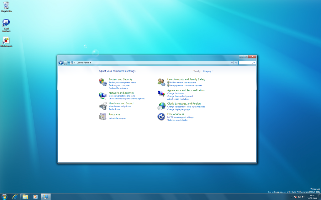 15 Windows 7 Build 7032 Screenshots