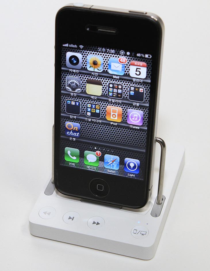 wowdock, 아이폰, 아이폰3, 아이폰4S, 옴니오 와우독, 와우독,