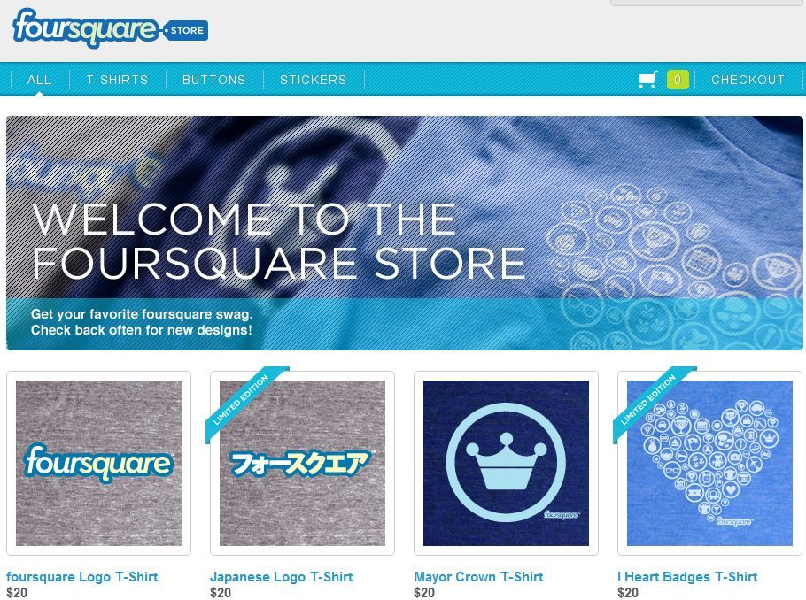 foursquare store