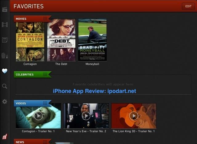아이패드 영화 트래일러 Moviefone Movies for iPad - Movie Theaters, Trailers, Showtimes, and News from Hollywood