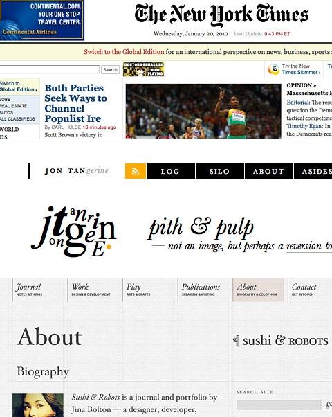 HTML5 &  CSS3, 2010 웹디자인 트렌드 큰 변화