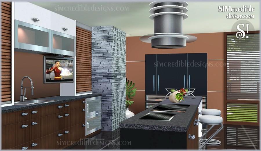 Objnoora simc concordia kitchen for Kitchen ideas sims 4