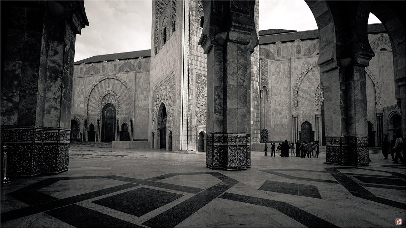 모하메드 2세 사원 _ 모로코
