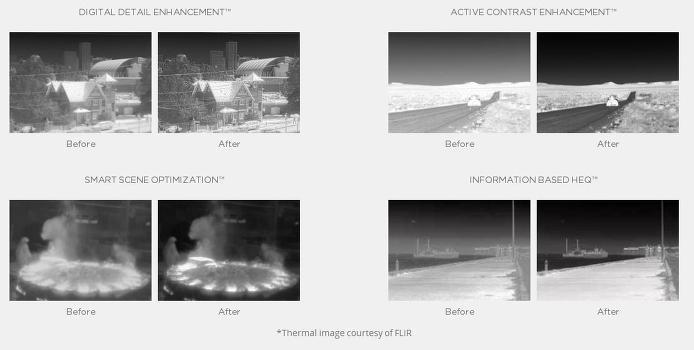 FLIR 이미지 보정 프로그램 보정 결과