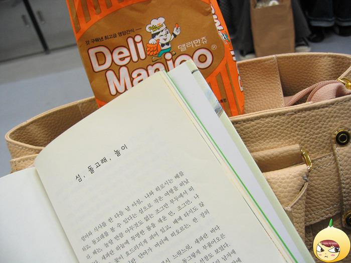 지하철에서 책 보기
