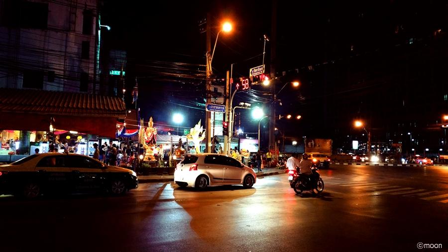 태국밤문화풍경사진
