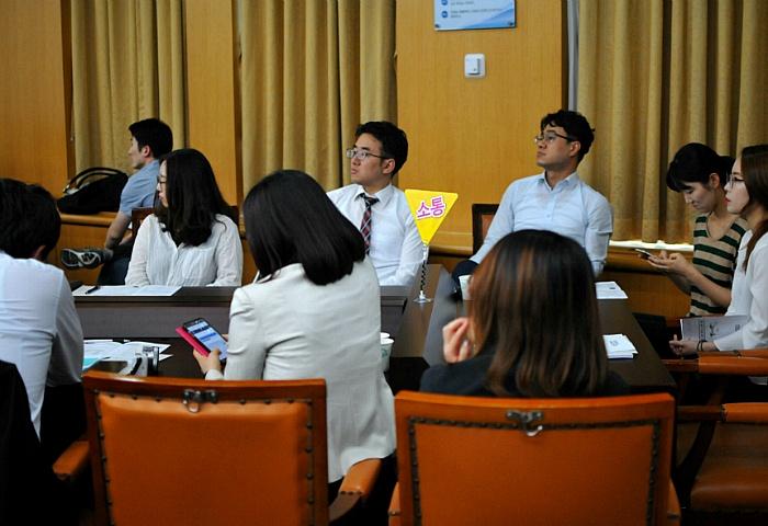 대전 청춘 비상 정책 대회 참가자들