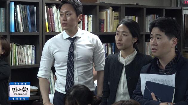 [영상] 어버이연합 기자회견 중 jtbc기자들 분노폭발