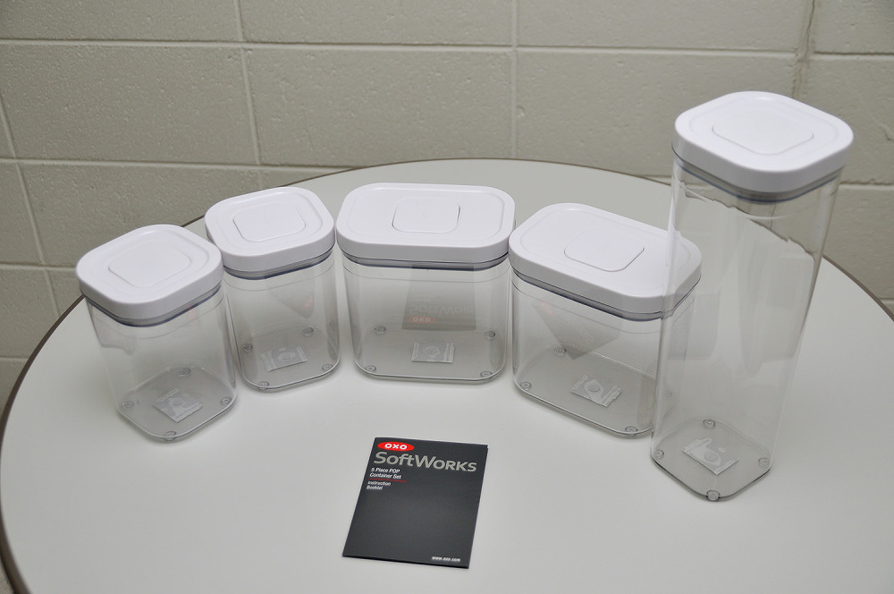 OXO SoftWorks 5Piece POP Container Set