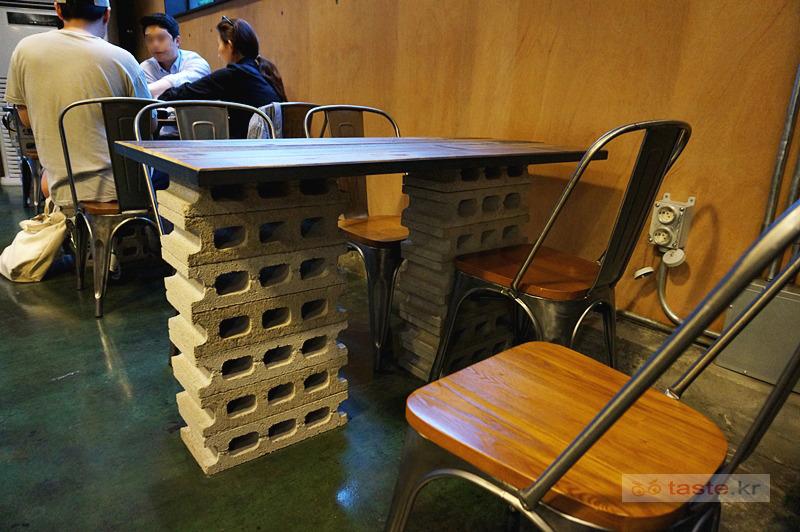 맛볼 taste.kr ::: 빈브라더스 합정 카페, 복층 위에서 내려다보기 ...