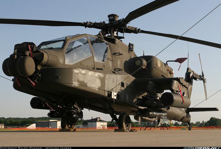 공격형 헬기 아파치 롱보우(AH-64D)