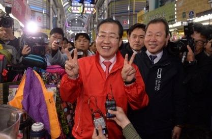 홍준표 자서전 '돼지발정제 성폭행 모의' 파문