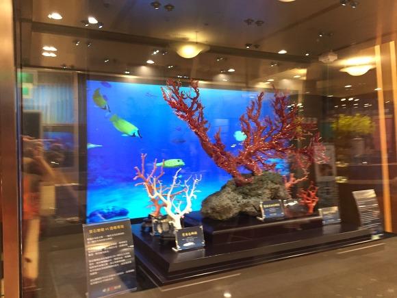 27. 타이베이101빌딩 산호초 장식