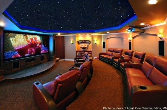 Bon temps - Diy home theater design idea ...