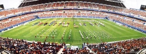 ▲ 제6회 지구촌평화문화연합대회 (2002. 대전 월드컵 경기장)