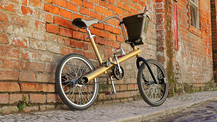 *폐차 재활용 자전거 The CARMA Project: A Bicycle Made From The Scrap Of A Car