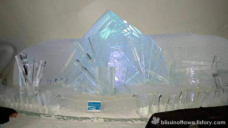 얼음 호텔의 채플 입니다