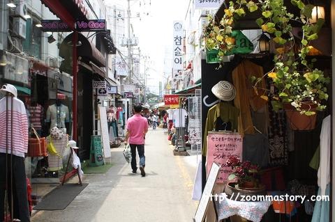 남포동, 국제시장, 깡통시장, 옷가게