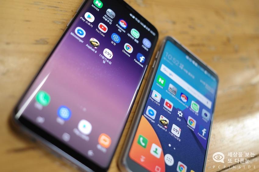 갤럭시S8플러스 그리고 LG G6 성능차이 과연 많이 날까?