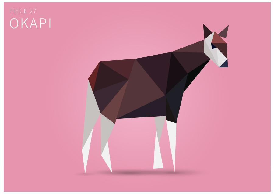 Piece 27 Okapi