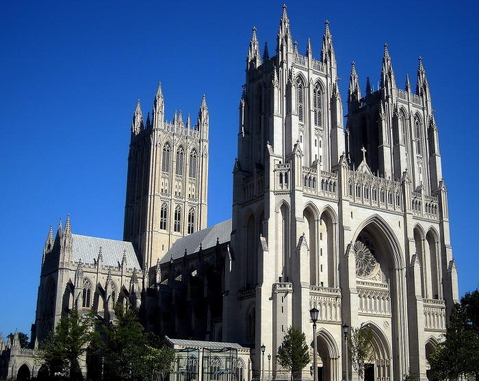 워싱턴 국립 대성당 Washington National Cathedral 외부