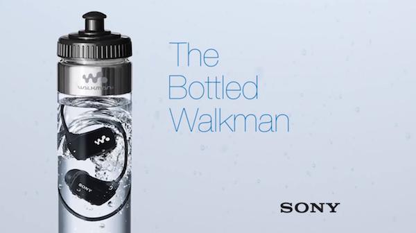 Sony Bottled Walkman