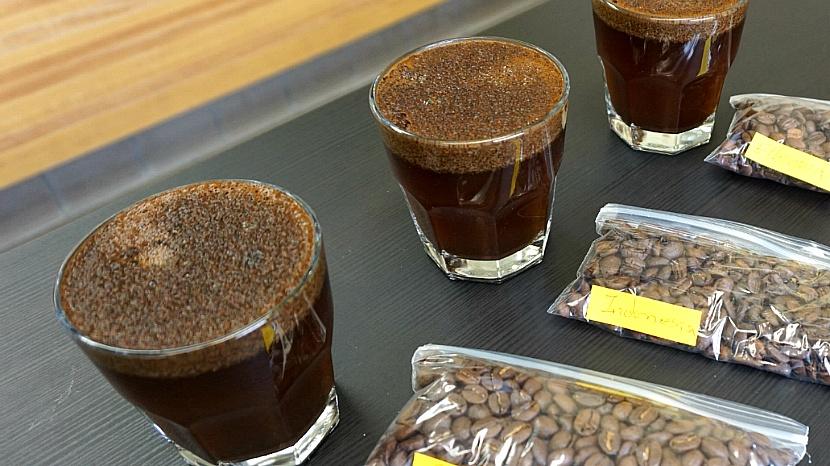 3개 대륙 커피맛을 찾아 떠난다 - LA 리나 커피랩 커핑 클래스 오픈