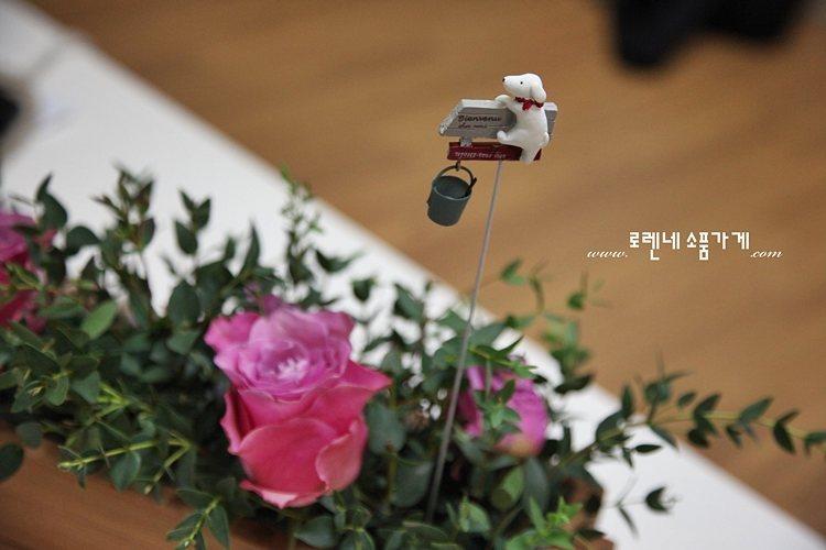 화분에 꽂는 쁘띠 '가든픽' 귀여운 인테리어 소품3