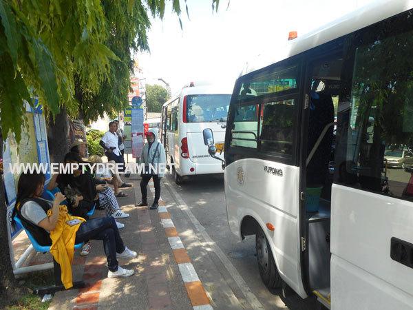 태국 치앙마이 시내버스 (아케이드 버스터미널 ~ 님만해민)