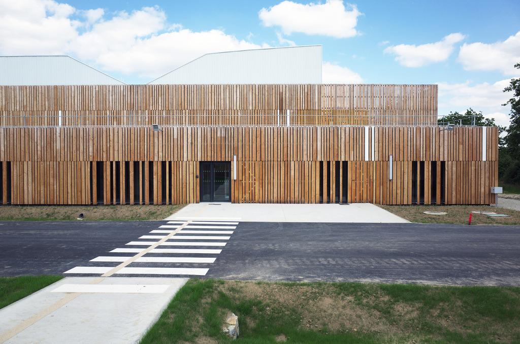 *지속가능한 디자인, 스크린 [ Block Architectes ] Proxinnov, Regional platform for innovation, La Roche-sur-Yon, Loire, France
