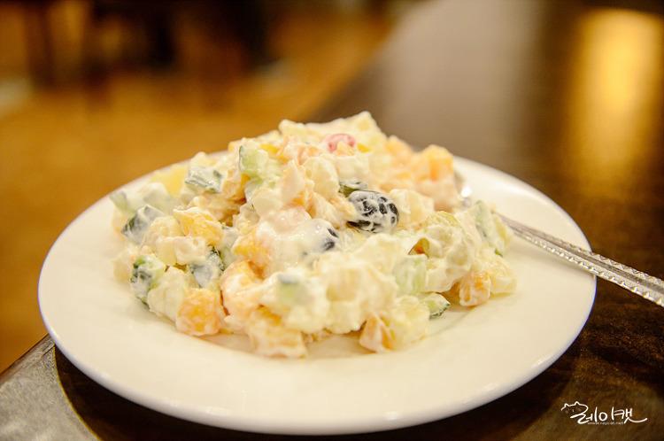 피노키오 레스토랑 과일샐러드