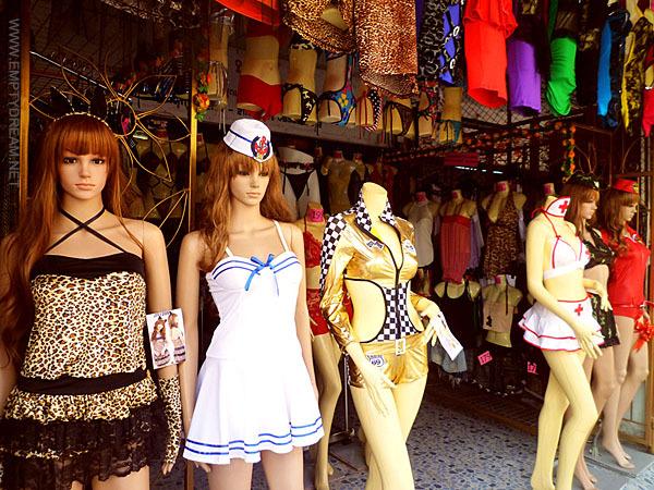 태국의 흔한 옷가게