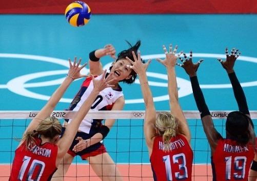 김연경-배구경기-올림픽