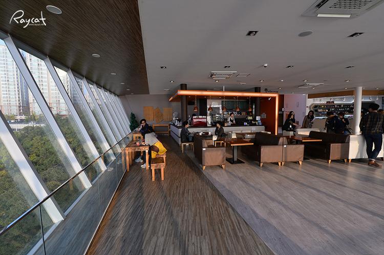 아미산 전망대 카페