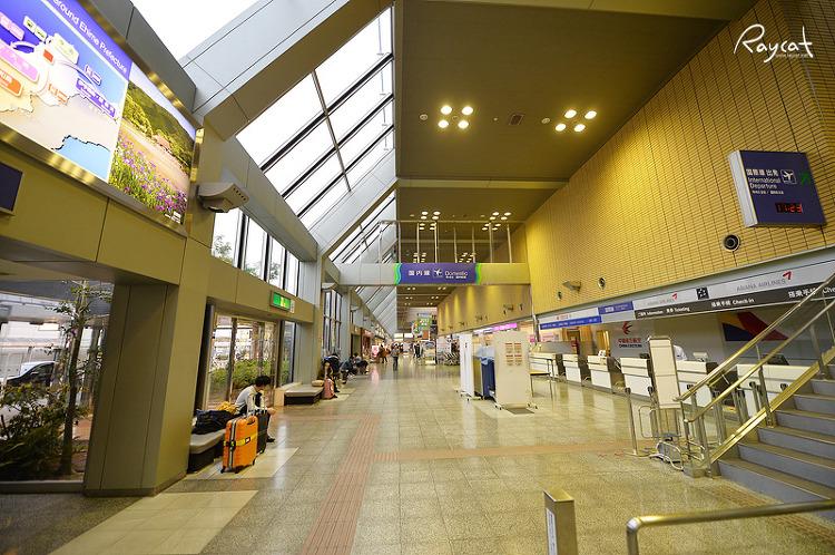 마츠야마 공항의 풍경
