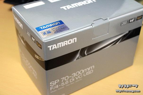 탐론 sp 70-300mm F/4-5.6 Di VC USD 망원렌즈