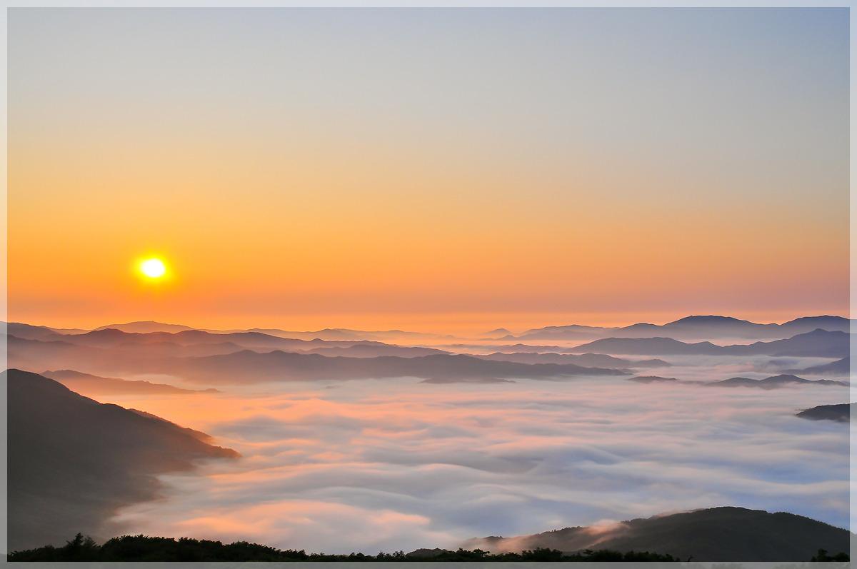 태기산 운해와 일출(2012.7.8)