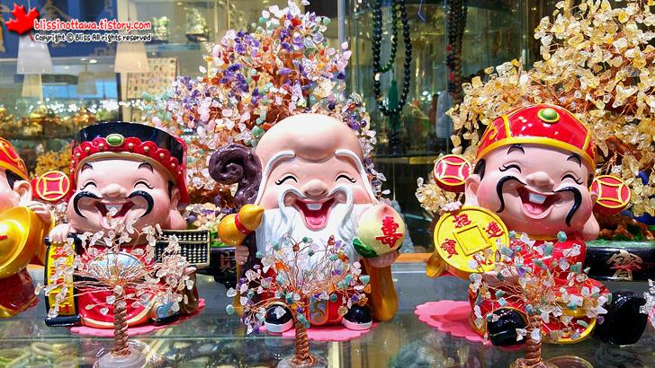 캐나다 토론토 차이나타운 중국 기념품