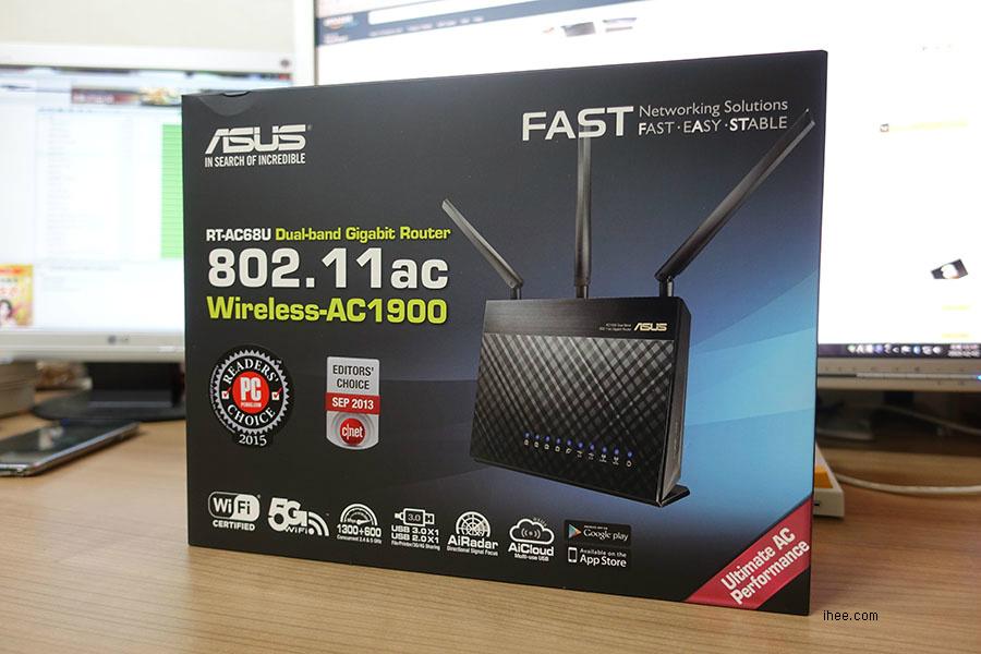 ASUS AC-RT68U 박스