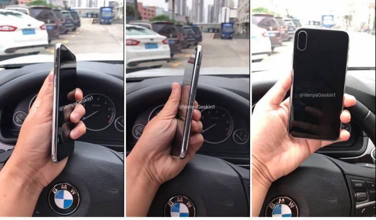 아이폰, 아이폰8, 아이폰x, 더미, 유출, 목업