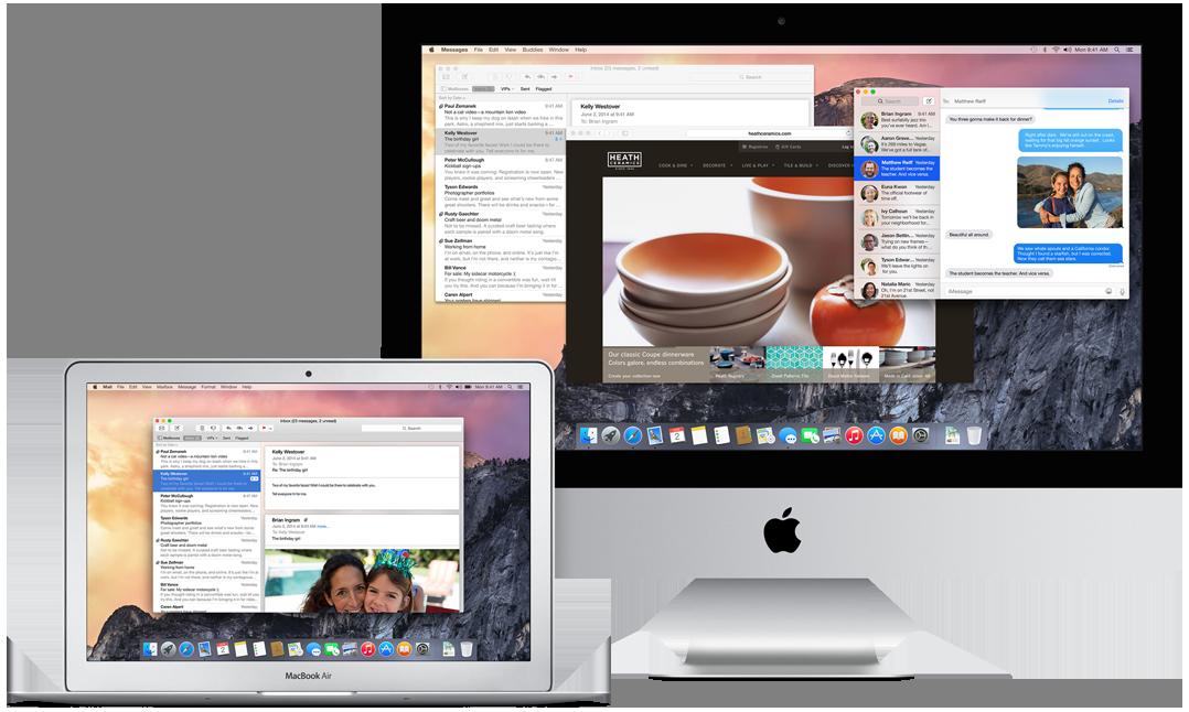 MacOSX 요세미티 퍼블릭 베타