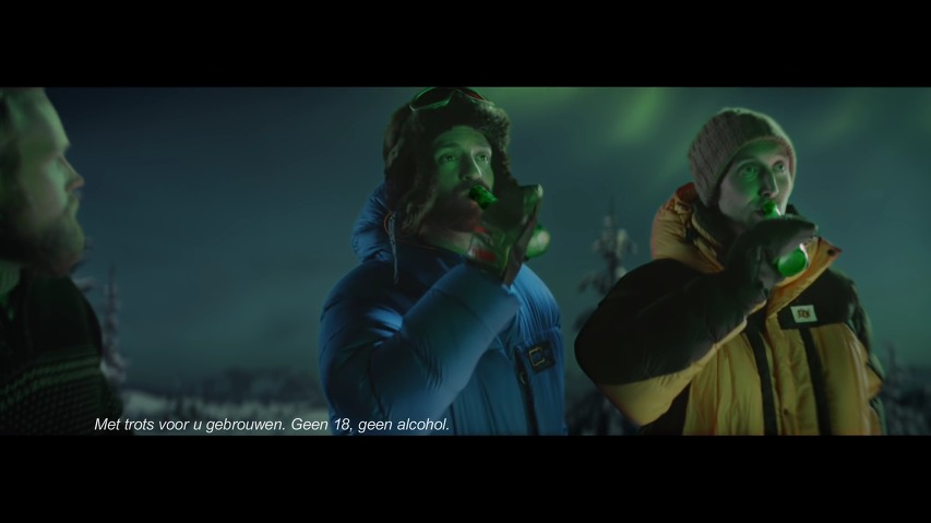 우주정거장(ISS)의 우주비행사들이 놓친 하이네켄병에서 시작된 오로라(북극광), 하이네켄(Heineken) 맥주 광고 - '자연의 경이(Nature's wonder)'편 [한글자막]