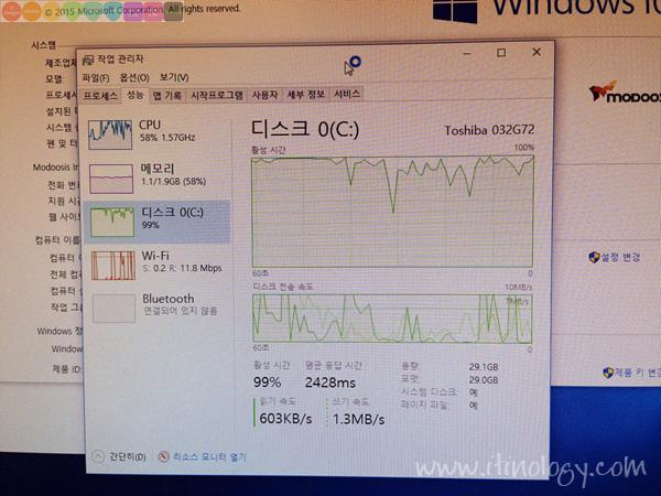 모두시스 트윙글 스틱PC - Modoosis Stick PC MDS-2200W10