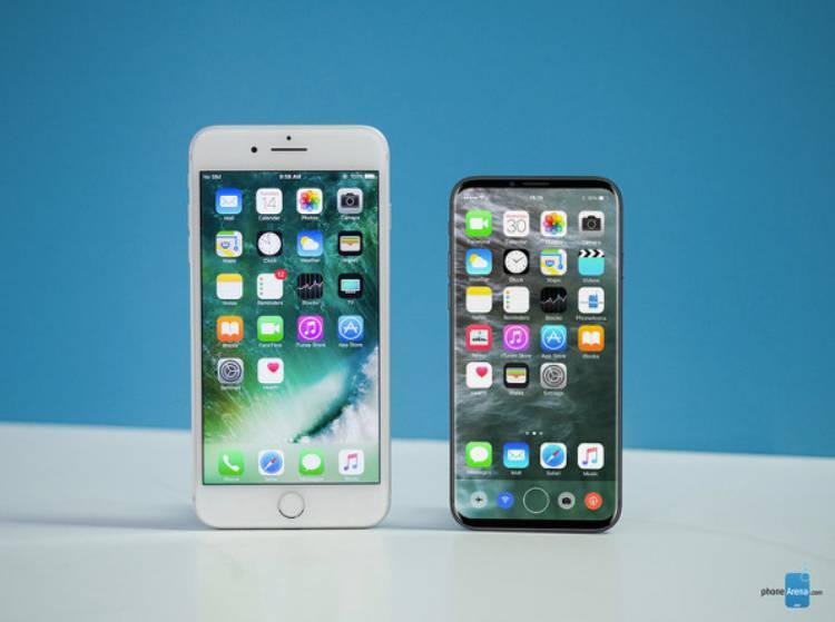 아이폰, 8, 아이폰8, 루머, 디자인, 지문센서, 목업