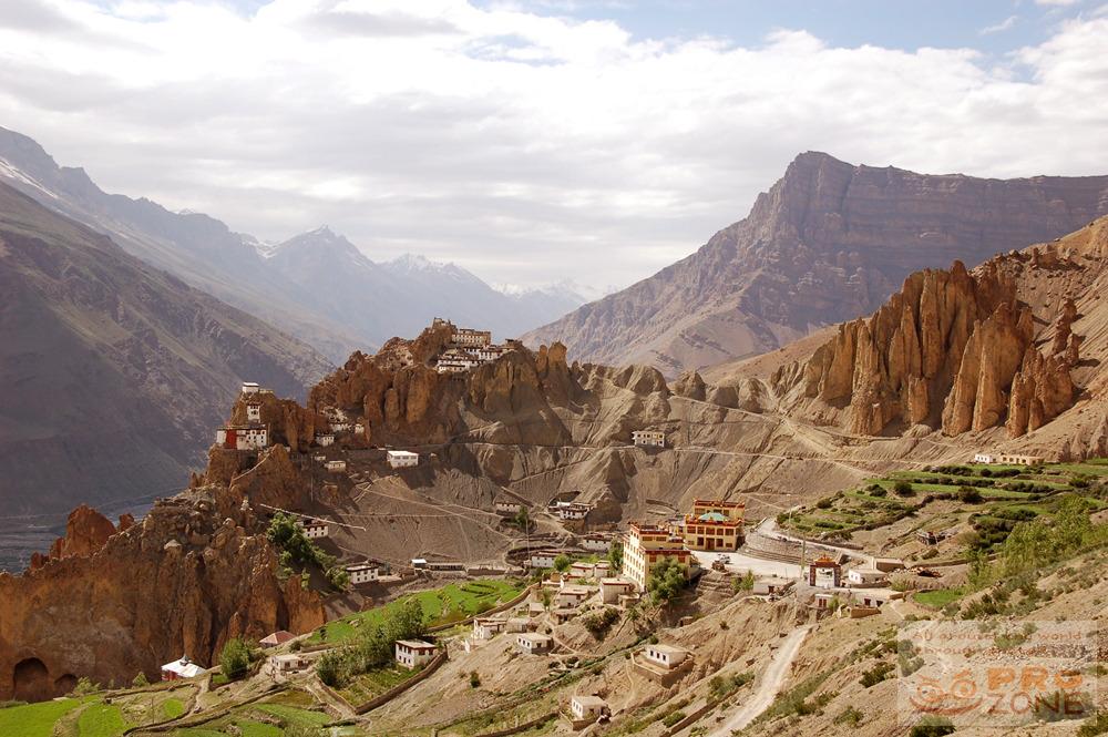 [인도] 스피티 키 곰파에서 바라본 신성한 풍경들 / 라다크에서 마날리 가는 길...히마찰 프라데시 라훌 & 스피띠 계곡