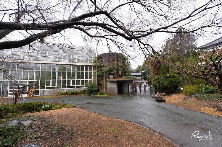 마키노 식물원 온실