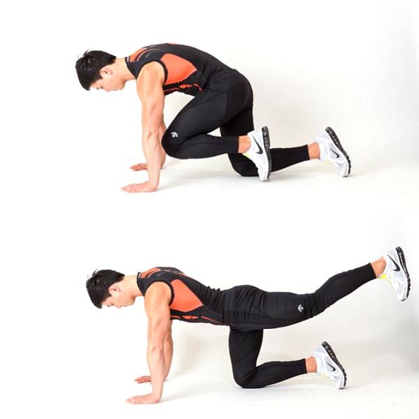 힙업에 좋은 엉덩이 근육운동 네 가지
