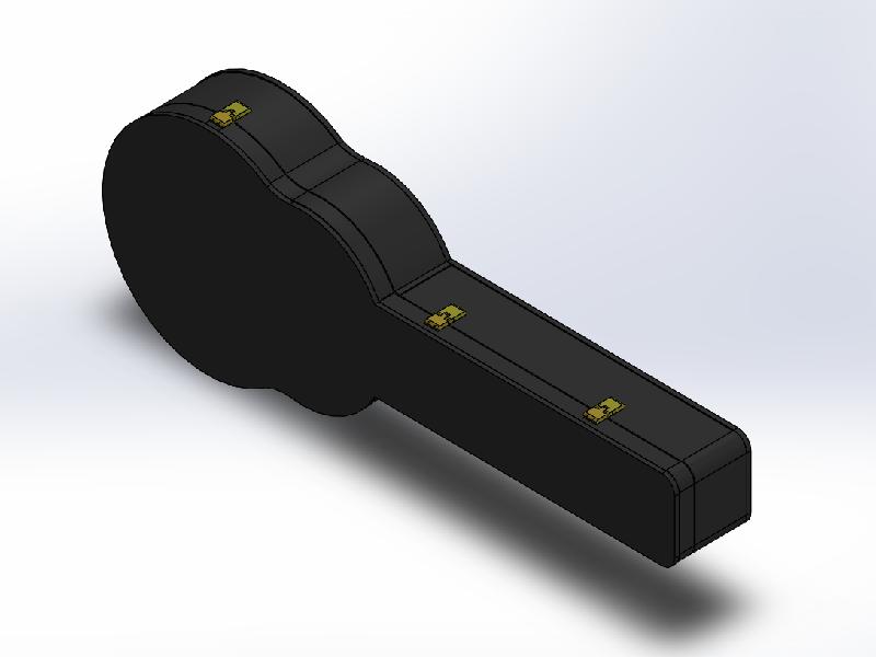 솔리드웍스 | 어쿠스틱 기타 하드케이스