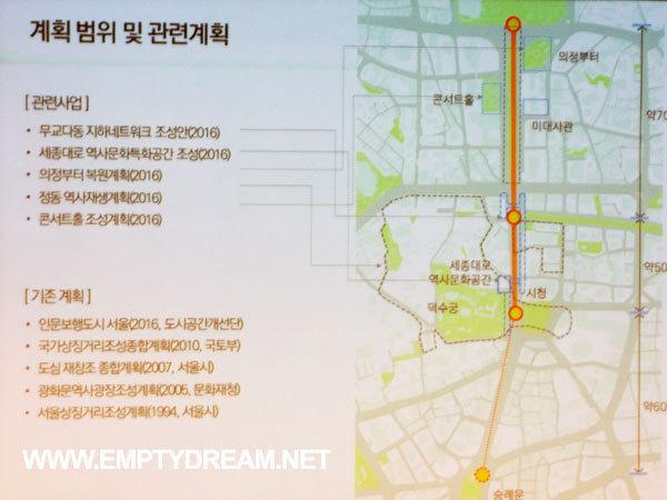 광화문광장 지상부 보행공간화, 차로 지하화 - 광화문포럼, 시민 대토론회 제안