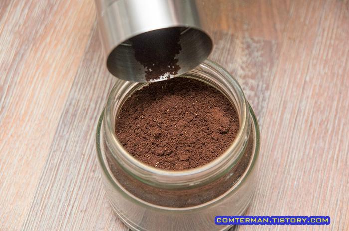 수동 그라인더 에스프레소 커피 분쇄